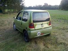 a microcar on blocks least substantial chassis autos