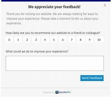 7 reasons to collect feedback with website intercept surveys questionpro