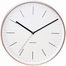 wanduhr minimal kupfer watches wanduhren uhren und
