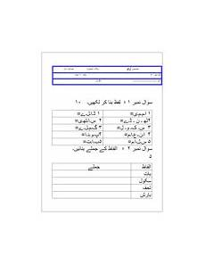 urdu grammar worksheets for grade 1 25198 urdu paper for grade 1 grammar comprehension and creative writing assessment teaching