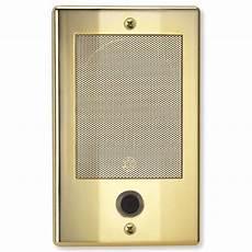 nutone ndb300bb nm series door speaker bright brass