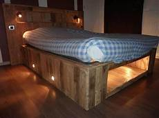 This Illuminated Pallet Bed Is As Easy As 1 2 3