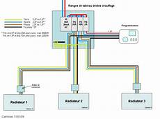 branchement thermostat chauffage electrique thermostat pour radiateurs 233 lectrique sans chaudi 232 re