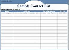 contact list template peerpex