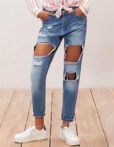 comment porter un jean trou 233 magazine avantages
