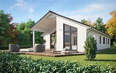 Bungalow Modern Satteldach - bungalow sh 147 b modern with pitched roof scanhaus