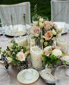 elegant diy pearl and candle centerpieces mon cheri bridals