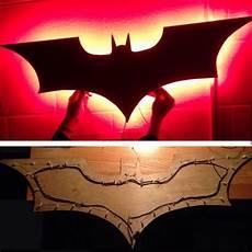 lighted batman wall art in 2019 cool kids bedrooms batman room superhero room