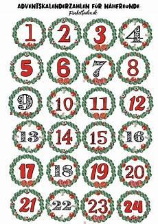 gratis n 228 h adventskalenderzahlen inhalt adventskalender