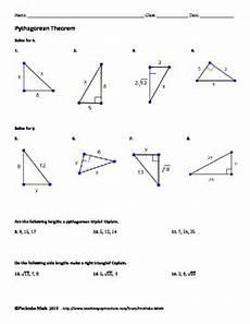 pythagorean theorem geometry worksheet by pecktabo math tpt