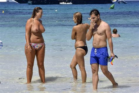 Beyonce Topless Beach