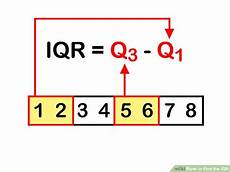 3 ways to find the iqr wikihow