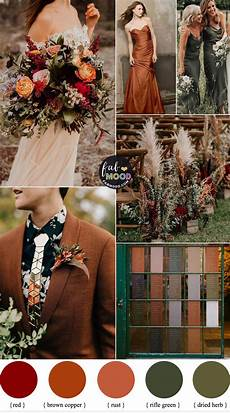 Terracotta Copper Fall Wedding Colors