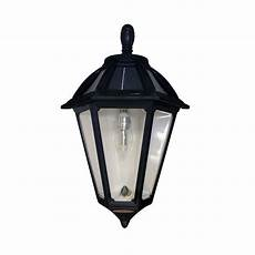 gama sonic polaris sconce 1 light black outdoor integrated