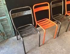 ensemble de 4 chaises tolix t1 5 francs