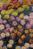 Bed Of Chrysanthemums 1897  Claude Monet WikiArtorg