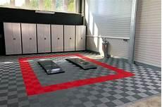 garagenboden aus kunststoff mit klicksystem