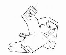 minecraft herobrine bilder zum ausmalen malvorlagen