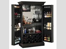Furniture: Corner Liquor Cabinet For Mixing And Serving A