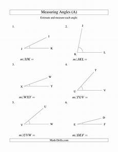 geometry worksheets measuring angles 805 measuring angles between 5 176 and 90 176 a measurement worksheet