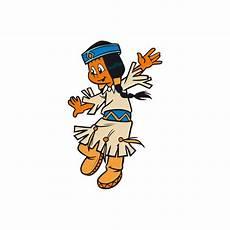wandsticker yakari regenbogen tanzt yakari indianer