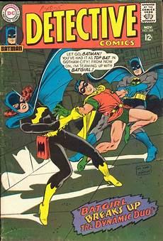 batgirl breaks up the dynamic duo detective