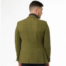 connection blazer tweed square homme vert sauge