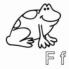 Schule Und Familie De Malvorlagen Kostenlose Malvorlage Buchstaben Lernen Ausmalbild F Zum