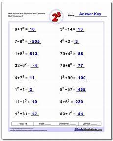addition and subtraction variable worksheets 10313 worksheet zero and negative exponents worksheet grass fedjp worksheet study site