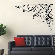 Home Decor Ideas Wall Stickers by Large Black Vine Wall Decals Diy Home Wall Decor