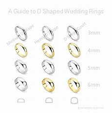 definitive guide to the d shape wedding ring