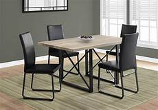 I 1100 Dining Table Only 36 Quot X 60 Quot Taupe Black