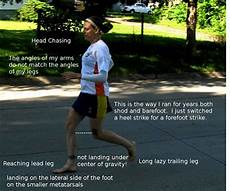 good barefoot running form objectively unlearning past