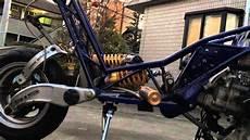 イタルジェットドラッグスターにスカイウェイブ250のエンジンスワップ italjet dragster
