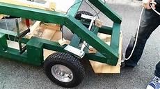 zweiter lenktest mit selbstgebautem elektroauto