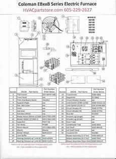 Eb15b Coleman Electric Furnace Parts Hvacpartstore