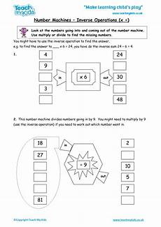 number machines inverse operations 247 tmk education