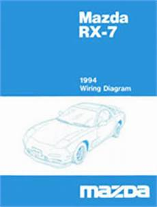 93 rx7 wiring diagram mazda rx 7 reference materials