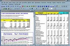 5 monthly financial report excel template progress report