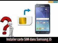 Comment Installer Carte Sim Et Carte Micro Sd Sur Un