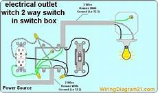 12 2wire diagram 2 way switch with electrical outlet wiring diagram how to wire outlet with light switch light