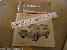 electric and cars manual 1998 lexus lx spare parts catalogs 1998 lexus lx470 electrical wiring diagram service manual oem ebay