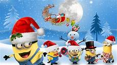 minion christmas helpers movies entertainment background wallpapers desktop nexus image