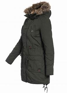 eight2nine damen winter parka kapuze mit abn kunstpelz by