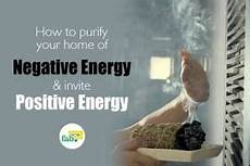 how to purify your home of negative energy and invite