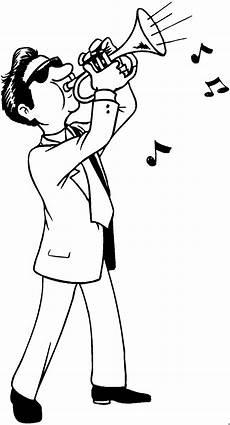 Malvorlagen Trompete Mann Trompete Ausmalbild Malvorlage Musik