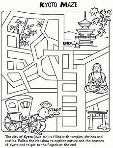 japanese worksheets 19495 let s learn about japan activity and colouring book page 5 of 7 stuffedover