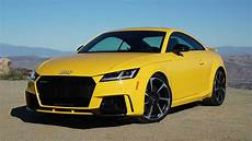 2018 audi tt rs coupe review starter supercar
