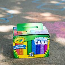 Amazon Com Washable Sidewalk Chalk 48 Assorted Bright Crayola 512048 48 Assorted Bright Colors Washable Sidewalk