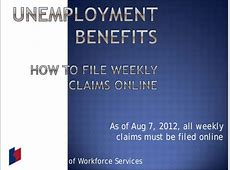 file my unemployment claim online